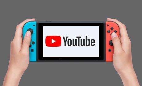 YouTube Nintendo Switch