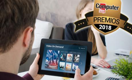 Plataforma de entretenimiento premios computerhoy