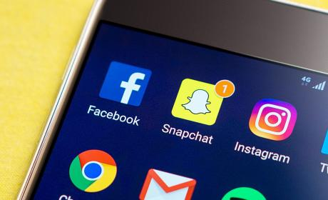 Snapchat Facebook Instagram
