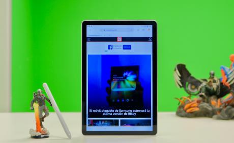Vertical Samsung Galaxy Tab S4