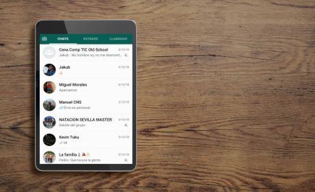 WhatsApp para tablets