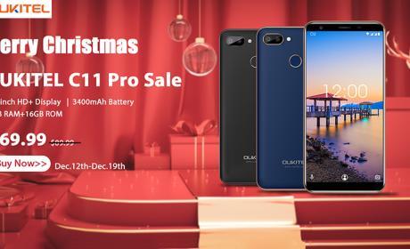 Ya puedes regalar un Oukitel C11 Pro para Navidad por 69,99 dólares