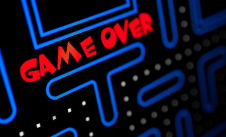 Juego arcade Game Over