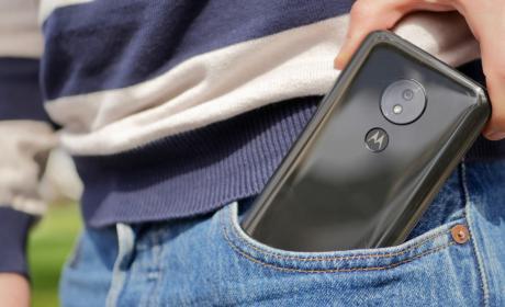 Fotografías del diseño del Moto G7 Power