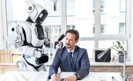 El robot con Alexa