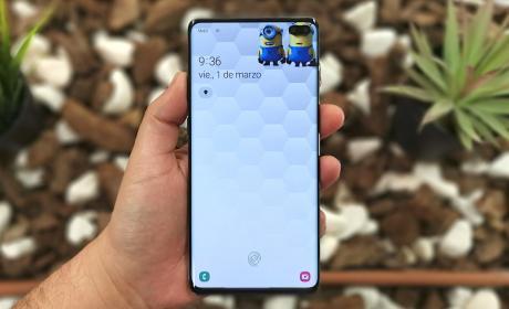 Galaxy S10 - fondo de pantalla