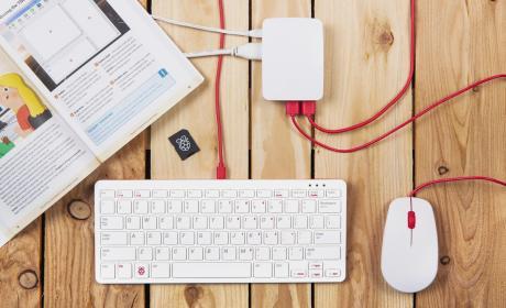 Teclado y ratón Raspberry Pi