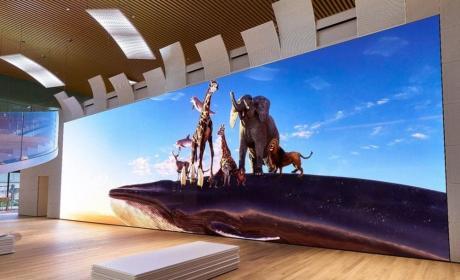 Televisor Sony con resolución 16K