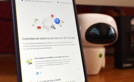 Borrar datos de Google