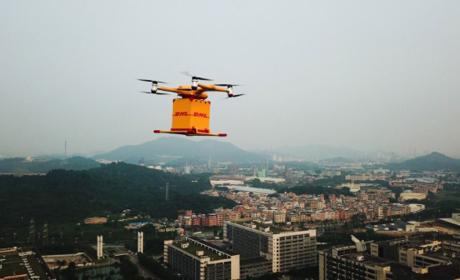 Dron DHL China