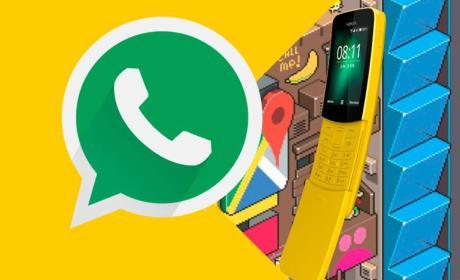 Nokia 8110 y WhatsApp