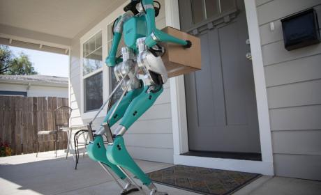 Robot repartidor de Ford