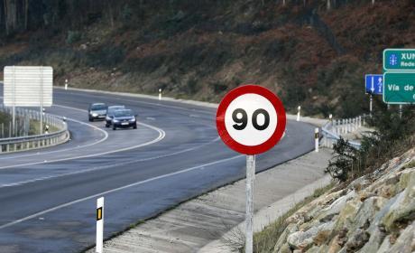 Multas por superar 90 km/h