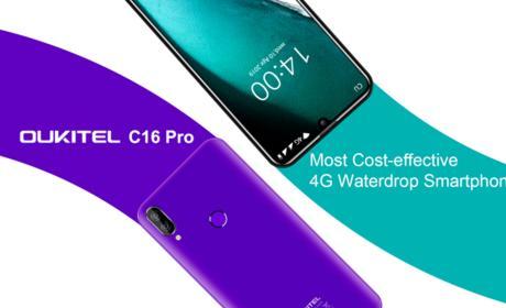 OUKITEL C16 Pro, el smartphone 4G más asequible de la marca se prepara para su lanzamiento