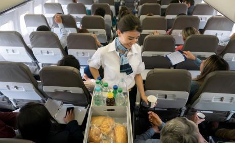 comida aviones