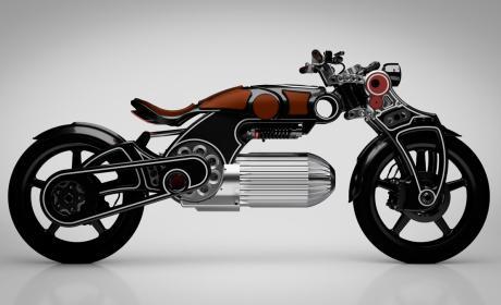 moto electrica altas prestaciones lujo futuro minimalismo