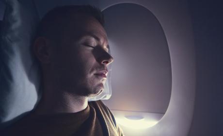 Dormir en avión