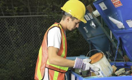 Buscar datos en la basura