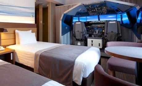 Hotel con simulador de vuelo