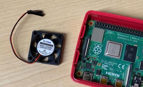 Raspberry Pi 4 ventilador