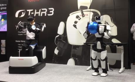 Robots Olimpiadas de Tokio