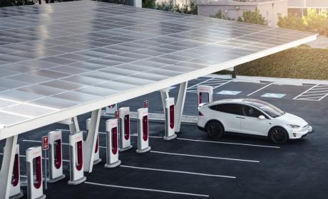 Supercargadores V3 de Tesla
