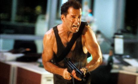 Bruce Willis en La Jungla de Cristal