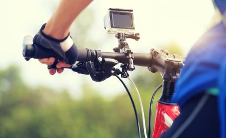Cámara de acción deporte bicicleta ciclismo
