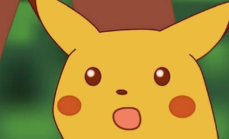 Pikachu sorprendido