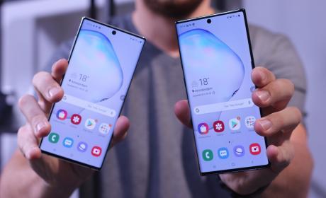 Samsung Galaxy Note 10 vs Note 10 Plus