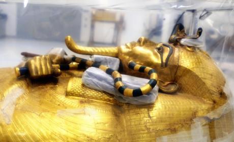 sarcofago de Tutankamón