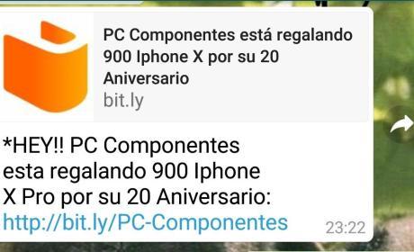 Bulo WhatsApp PcComponentes