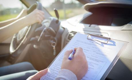 Examen carnet de conducir