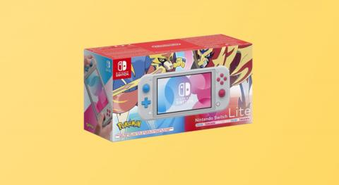 Nintendo Switch Lite Edición Especial Pokémon