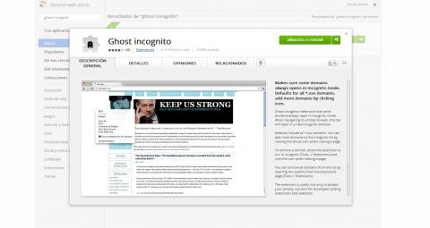 Imagen descarga Ghost Incognito
