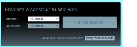 Ventana Configurar Web