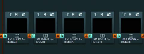 imagen de proceso de edición del vídeo en Magix Video Deluxe