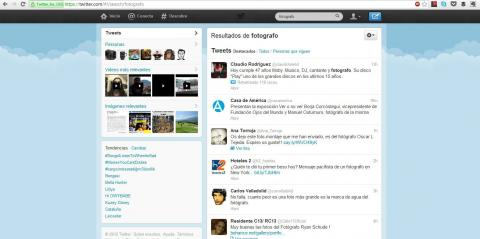 Interfaz de Busqueda Twitter