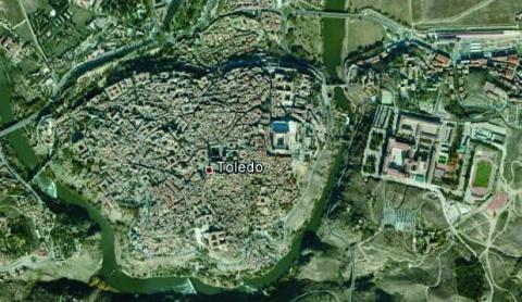 Imagen detallada en Google Earth