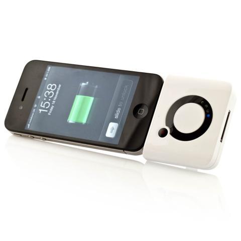 Cargador de bolsillo para iPhone