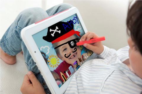 Super Paquito, una tableta para niños