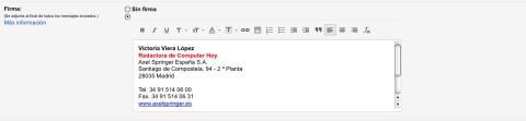 imagen de firma electrónica en gmail