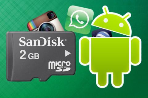 Mueve aplicaciones a la tarjeta SD en Android