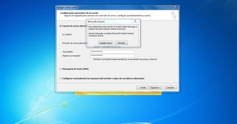 Instalación Outlook Connector