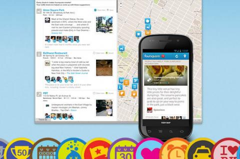 Aprende a usar Foursquare