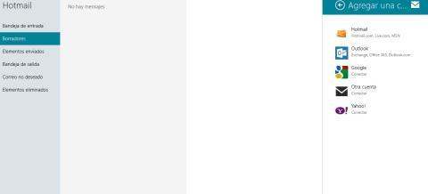Ventana selecciona Google Windows 8
