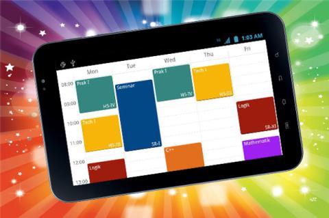 Gestiona tu agenda escolar con  yasp! para Android