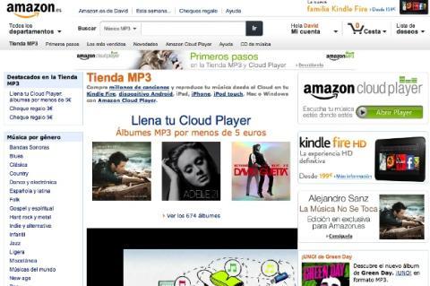 Tienda de Mp3 de Amazon