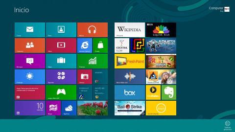 Cómo moverte en Windows 8