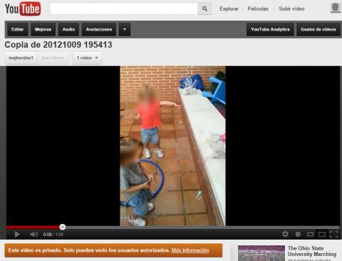 Configura la privacidad en tus vídeos de YouTube